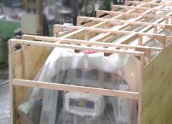 Embalajes para el sector de la Equipamiento Industrial